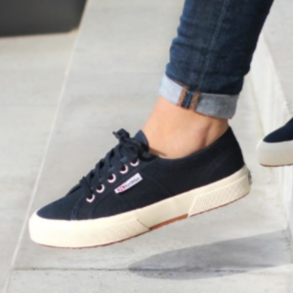 Superga Navy Blue Sneaker Size 7